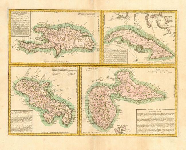 Carte Cuba Martinique.Old World Auctions Auction 112 Lot 333 Carte De S