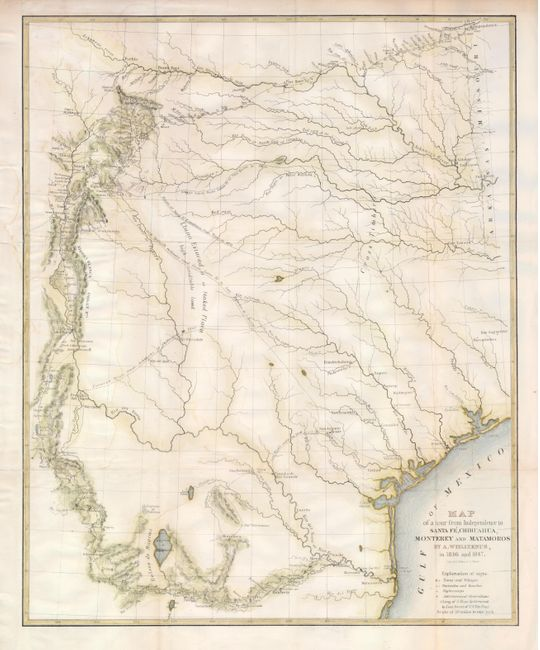 Old World Auctions - Auction 121 - Lot 326 - Map of a Tour from ...