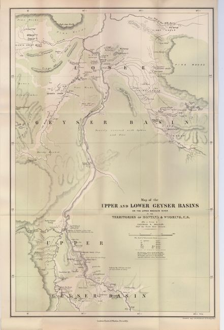 Madison River Montana Map.Old World Auctions Auction 123 Lot 299 Map Of The Upper And