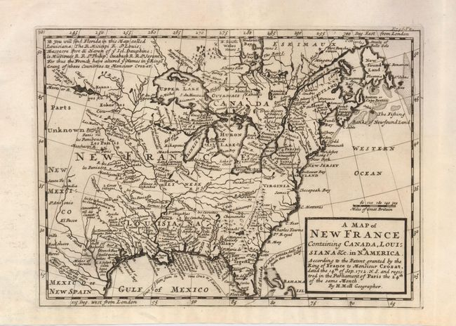 Old World Auctions - Auction 126 - Lot 120 - A Map of New France ...