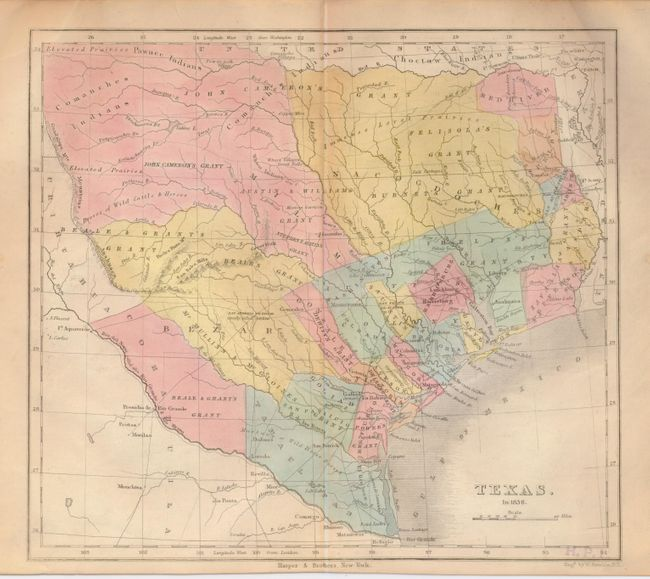 Map Of Texas In 1836.Old World Auctions Auction 128 Lot 377 Texas In 1836