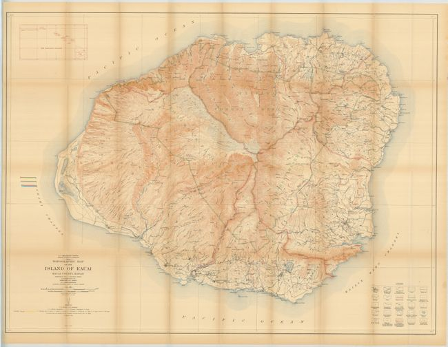 Old World Auctions Auction 129 Lot 273 Topographic Map Of The