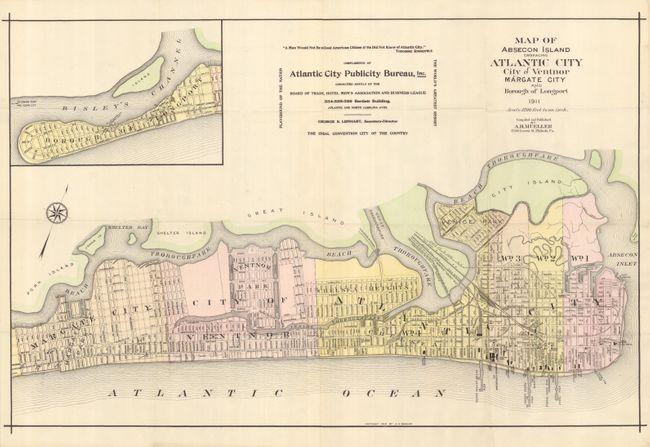 Vintage Atlantic City Maps