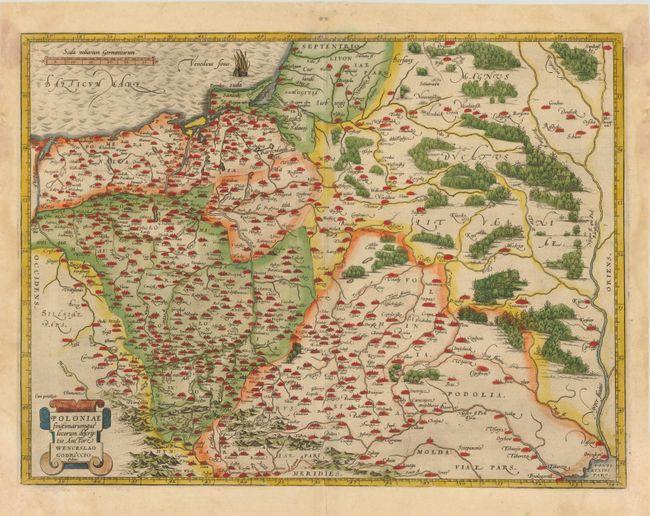 Theatrum orbis terrarum dynamic borders