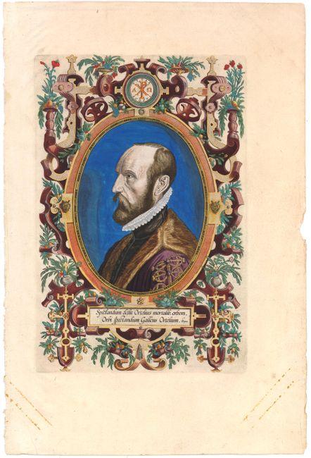 Spectandum dedit Ortelius mortalib. Orbem, Orbi spectandum Galleus Ortelium
