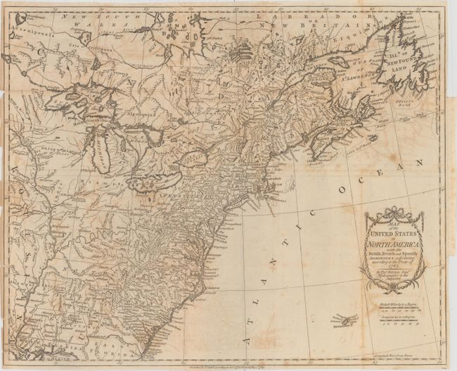 Old World Auctions - Auction 153 - Lot 119 - Map of the United ...