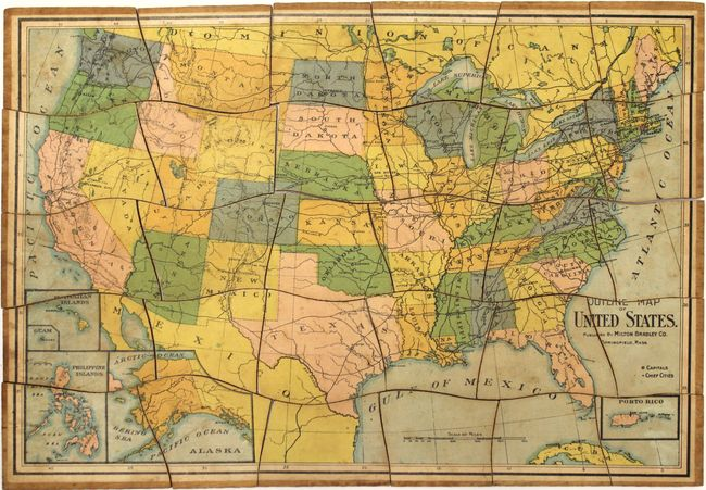 Old World Auctions - Auction 157 - Lot 155 - [Puzzle Map ...