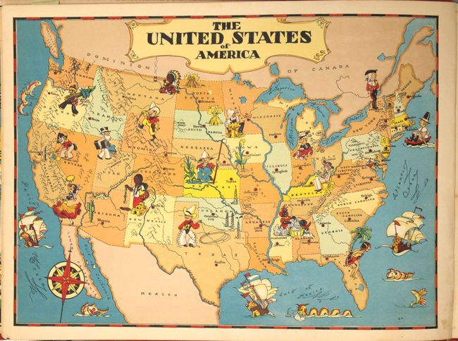 Complete Map Of Usa.Old World Auctions Auction 160 Lot 807 Our U S A A Gay