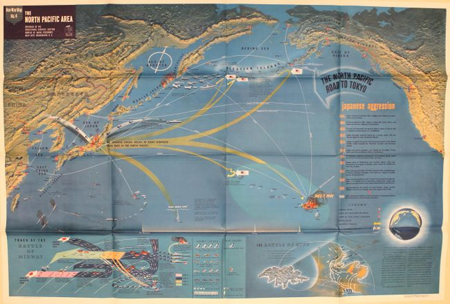 Old World Auctions - Auction 164 - Lot 722 - Nav War Map No  4 - The