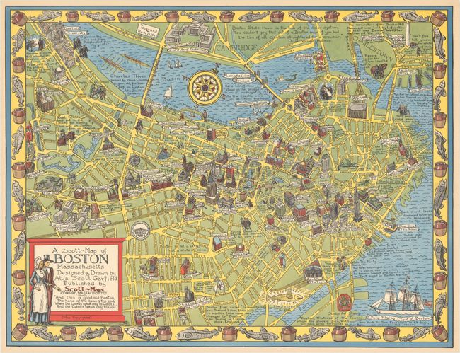 Radcliffe College Map