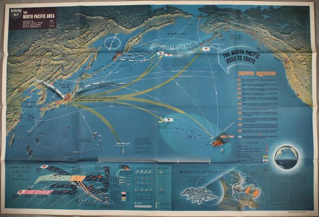 Old World Auctions - Auction 171 - Lot 728 - Nav War Map No