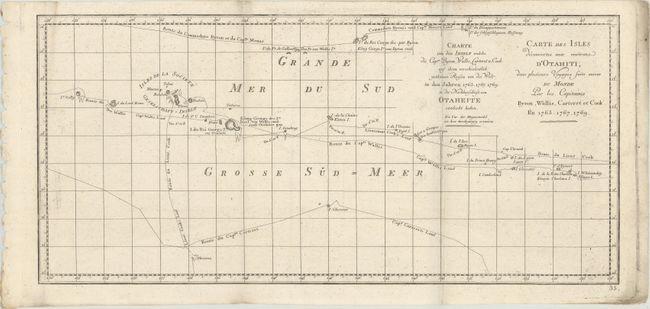 Carte Du Monde Tahiti.Old World Auctions Auction 171 Lot 733 Carte Des Isles