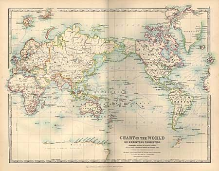 Old world auctions auction 94 lot 473 handy royal atlas of handy royal atlas of modern geography johnston w ak gumiabroncs Gallery