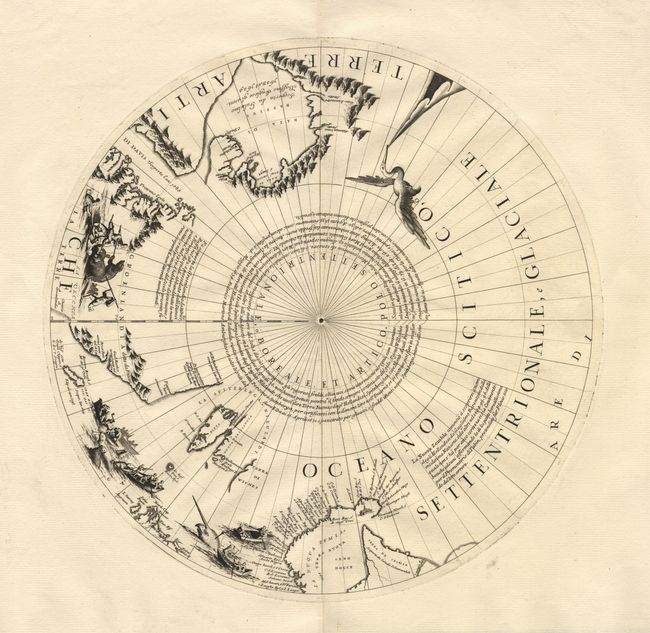 Vintage Globe Line Drawing : Antique map chart untitled globe gore
