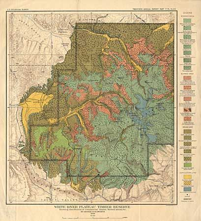 Old World Auctions - Auction 97 - Lot 187 - Geological Map of ...